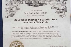 BOMD - Westbury Park Clean-Up April 2019