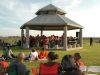 Willow Waterhole concert photo - gazebo and crowd
