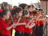 Close-up of Parker Elementary Violinists- Sunday Music in the Park (Feb 19)