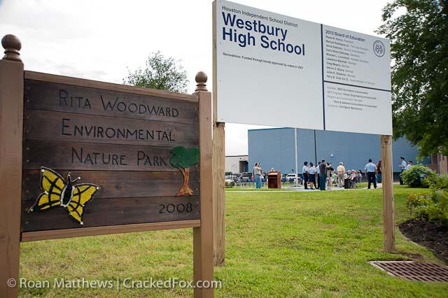 Rita Woodward flag dedication Nature Park