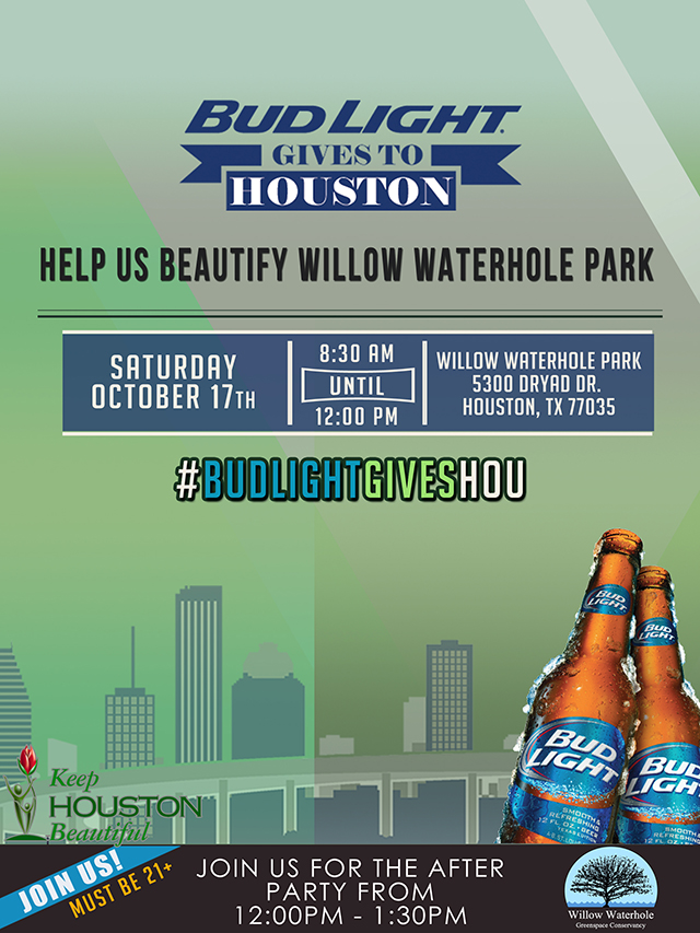 Bud Light Gives Willow Waterhole Park Flyer