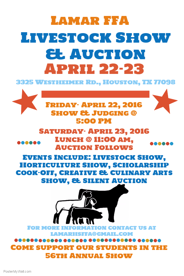 2016 Lamar FFA Show  Auction (2)