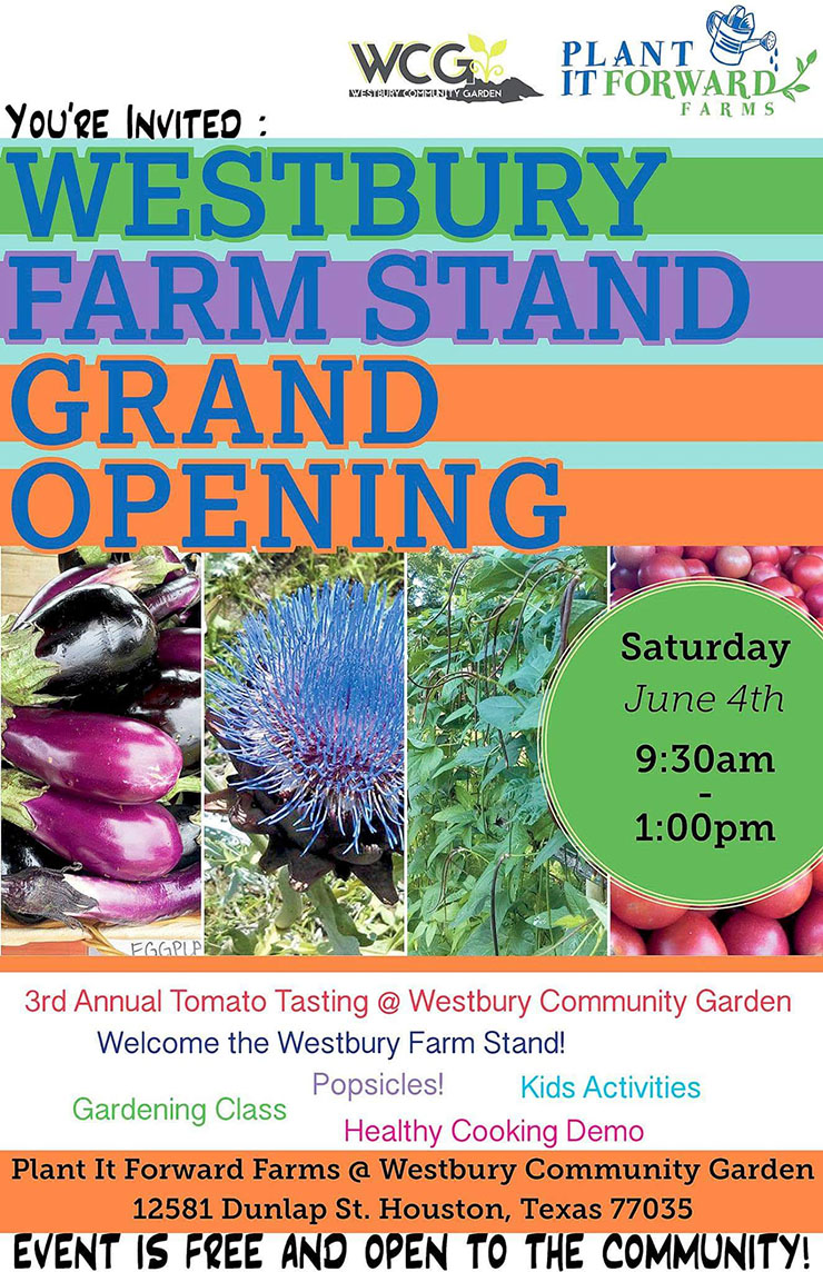 Westbury Farm Stand Grand Opening