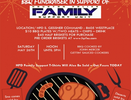 Memorial Day BBQ Fundraiser in support of Houston Police Family Support Unit