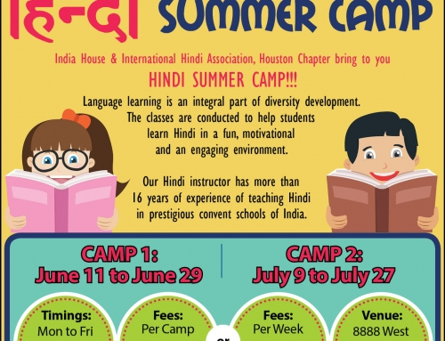 Summer Camps at India House
