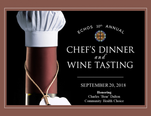 ECHOS 10th Annual Chef's Dinner and Wine Tasting