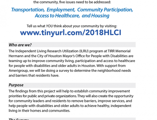 Houston Livable Communities Initiative Survey