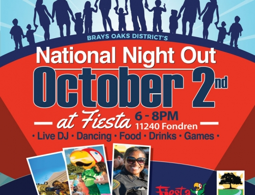 Come celebrate! National Night Out, Oct. 2