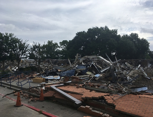 Demolition and rebuild of Braeburn Elementary underway