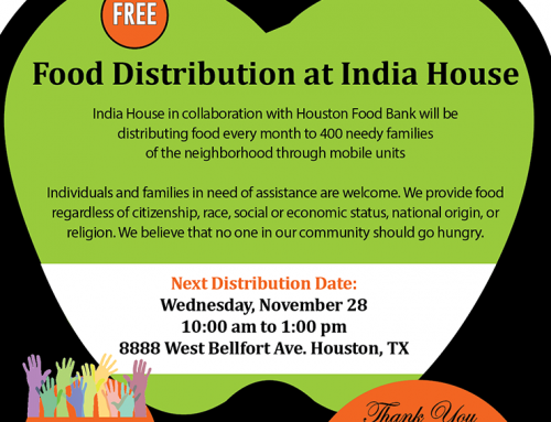 Food Distribution at the India House, Nov. 28