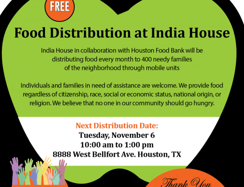 Food Distribution at India House, Nov. 6