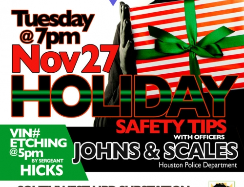 Southwest PIP Meeting: Holiday Safety Tips, Nov. 27