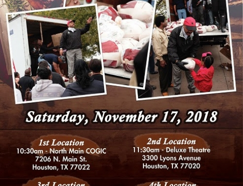 THIS SATURDAY: Sen. Borris Miles TURKEY GIVEAWAY!