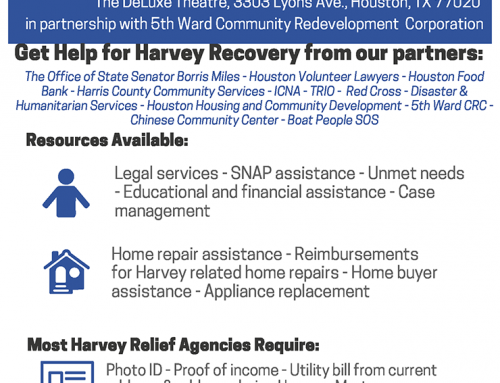 Harvey Recovery Fair, Dec. 15