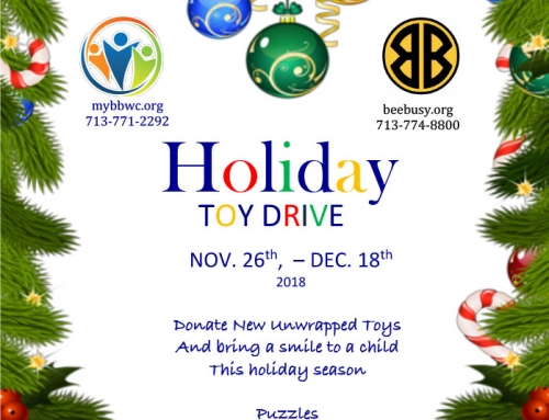 Holiday Toy Drive, Nov. 26-Dec. 18