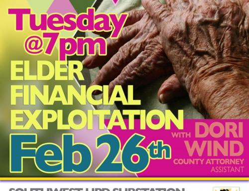 Southwest P.I.P. Meeting, Feb. 26