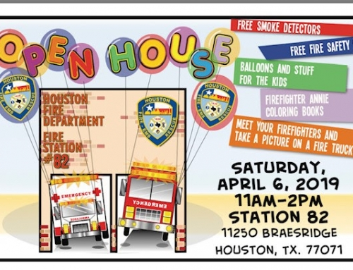 Houston Fire Department Open House, April 6
