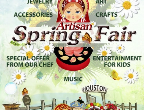 Artisan Spring Fair, March 16