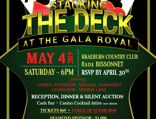 Stacking the Deck at the Gala Royal, May 4