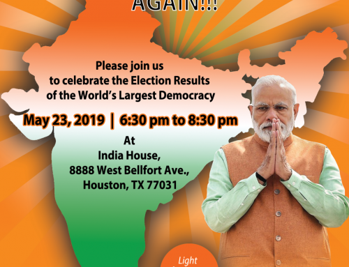 Celebration @ India House Today (Thursday), May 23rd at 6:30 pm