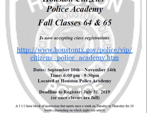 HPD Citizens' Police Academy