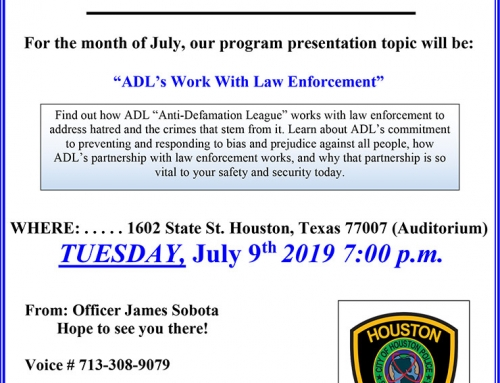Chief's Citywide PIP Meeting, July 9