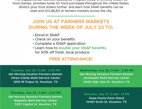 Pilot programming: enroll in SNAP with CAP at Double Up Food Markets