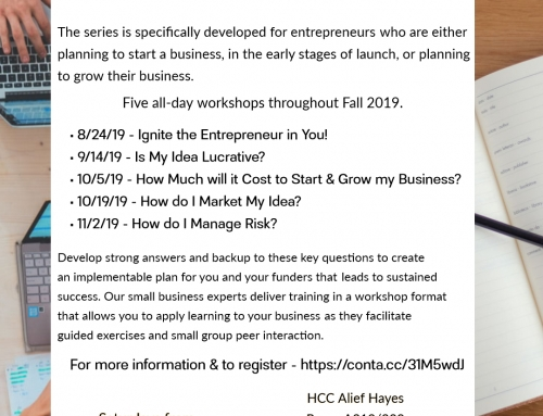 Small Business Success Series by HCC – Five 1-Day Workshops