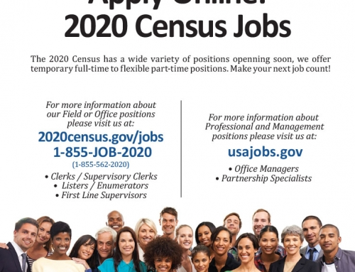 US Census 2020 Job Opportunities