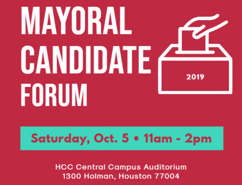 Super Neighborhood Alliance #38 Mayoral Forum, Oct. 5