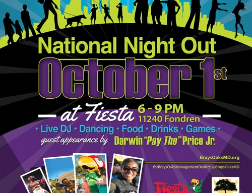 National Night Out, Oct. 1