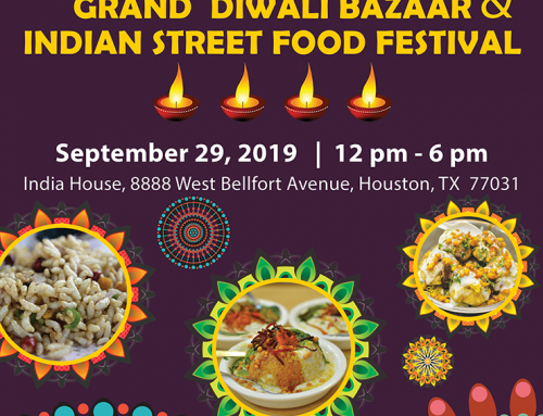 Diwali Bazaar & Street Food Festival @ India House, Sep 29