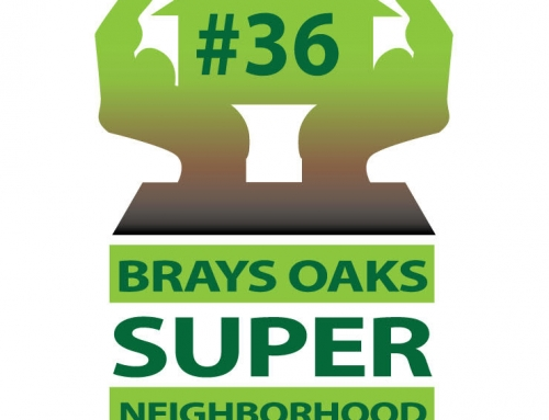 Join Brays Oaks Super Neighborhood #36 Tuesday March 2, 2021