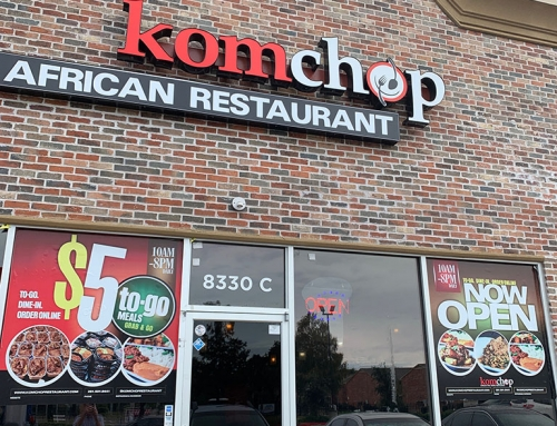 Komchop Offers Down Home Nigerian Cooking!