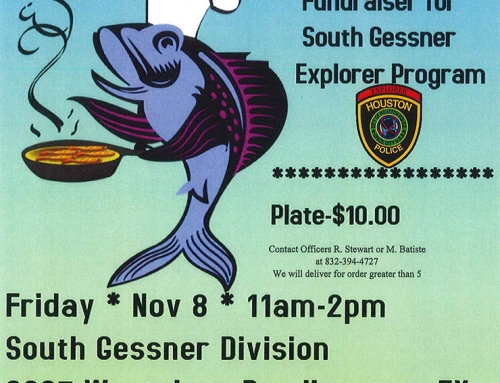 Fundraiser: Fish Fry, Nov. 8