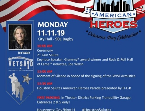 Mayor Turner announces 22nd Annual Houston Salutes American Heroes Veterans Day Celebration