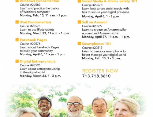 HCC: Digital Living Classes for Seniors
