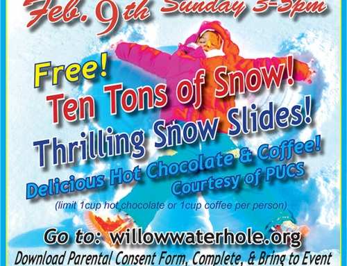 10 Tons of Snow! In the middle of Houston! Winter Fun at Willow Waterhole, Feb. 9