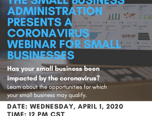 Congressman Al Green-in Cooperation with the Small Business Administration – Presents a Coronavirus Webinar for Small Businesses