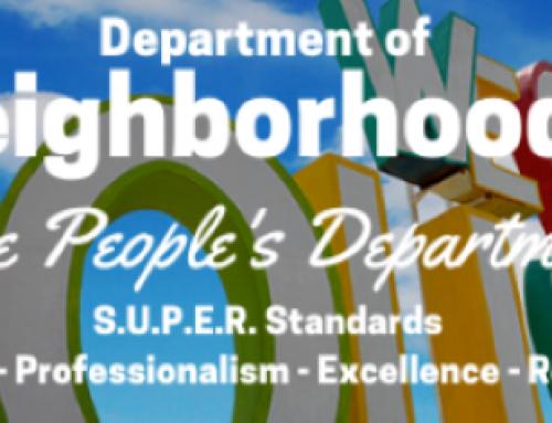 Neighborhood Matching Grant Program – Call for Applications!
