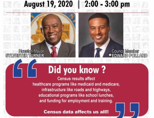 India House hosts Census Webinar with Mayor Turner on Aug. 19