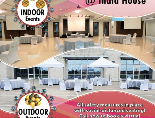 Host your event safely at India House