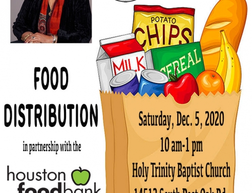 State Rep. Dr. Alma A. Allen: Food Distribution, Dec. 5