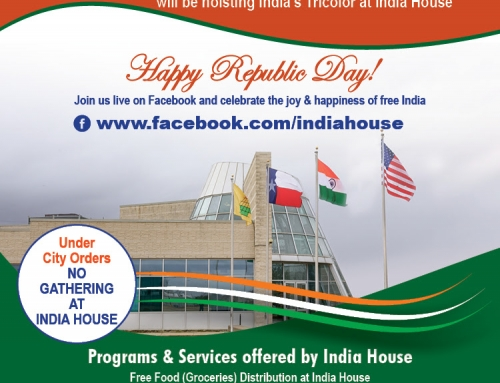 Join us for Virtual Celebration of India's Republic Day : January 26th | 10:30 am