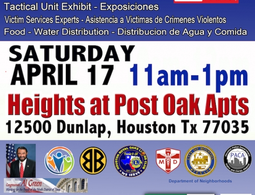 Alianza Against Crime, April 17