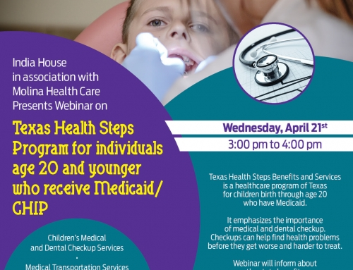 India House: Texas Medicaid Webinar for individuals age 20 and younger | Wednesday, April 21st @ 3:00 pm