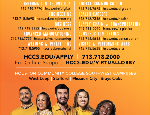 New Houston Community College Courses Available