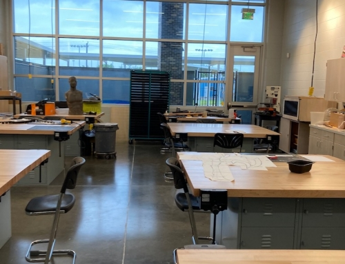 New Westbury High wing for fine arts magnet students is quite fine