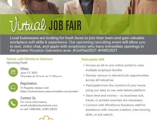 Youth Adults Virtual Hiring Event – Thursday, June 17