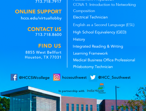 HCC: Fall 2021 programs and workshops